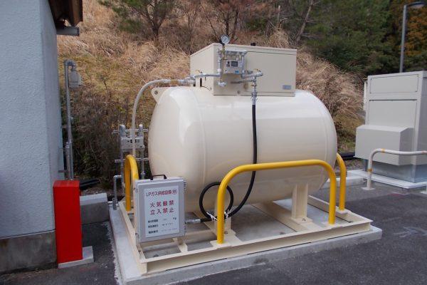 大規模停電対策、LPガス非常用発電機による電力供給事業の推進